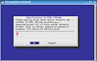ファイアーウォール:IPアドレス指定:Samba(138/udp)